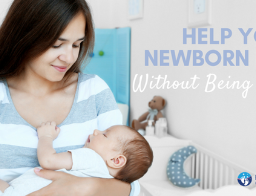 Help Your Newborn Nap Without Being Held